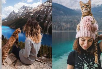 Martina bercuti bersama kucing kesayangan curi tumpuan warganet