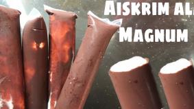 Home-made aiskrim ala Magnum mudah, murah dan sedap!
