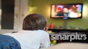 Cara menjaga mata ketika menonton televisyen