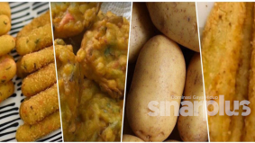 Hanya dengan kentang, macam-macam resipi boleh buat