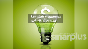 Langkah penjimatan elektrik di rumah
