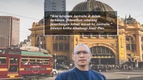 Rakyat Malaysia kongsi situasi terkini di Melbourne hadapi covid 19