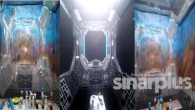 Deko bilik kecil jadi kapal angkasa, hasilnya sangat wow!
