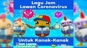Catchy lagu Didi & Friends, ajar kanak-kanak lawan corona virus
