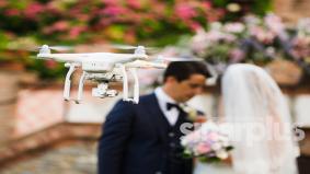 Dron bukan hanya mampu rakam video kahwin