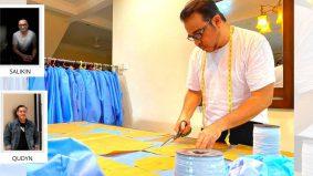 Tiga pereka fesyen jahit PPE untuk frontliner