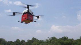 Robot, dron  hantar kurier cegah Covid-19