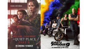 A Quiet Place II, Fast & Furious 9 tangguh tayangan