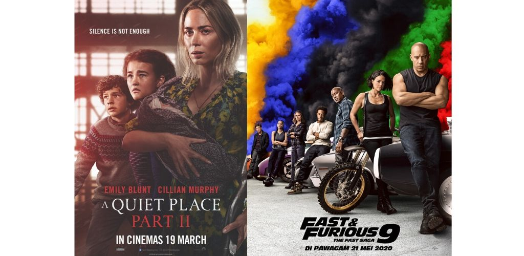 A Quiet Place II, Fast & Furious 9