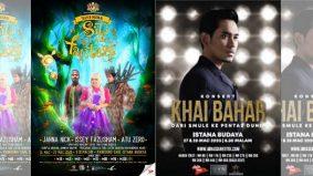 Muzikal Siti Di Alam Fantasi, Konsert Khai bahar ditangguhkan
