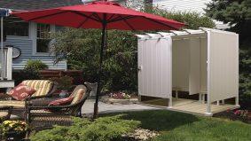 Covid-19: Idea tempat mandi di luar rumah yang praktikal