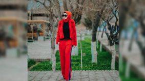Biasan rona merah simbolik wanita berani