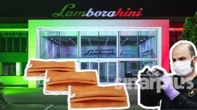 Lamborghini hasilkan topeng muka untuk derma pada hospital