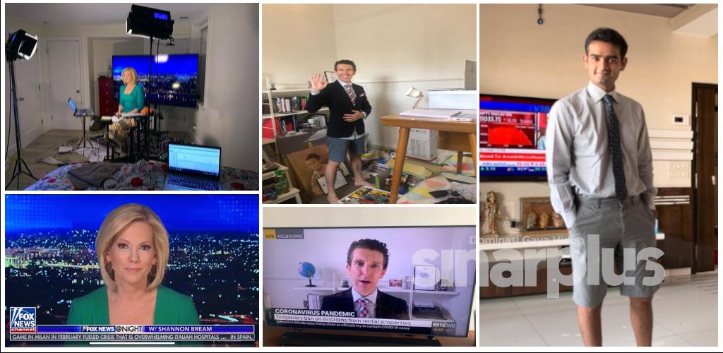 Wartawan kongsi cara kerja dari rumah
