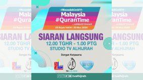 #Qurantime di TV Alhijrah