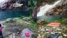 Air Terjun Berkelah kotor, sikap pentingkan diri susahkan orang lain