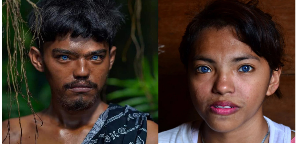Pulau Siompu, sebuah desa unik di Indonesia yang penduduknya bermata biru