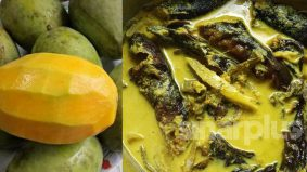 Boleh cuba kelainan masak lemak ikan keli salai dengan kuini muda ini