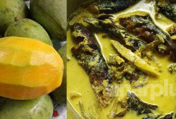 Boleh cuba kelainan masak lemak ikan keli salai ini dengan kuini
