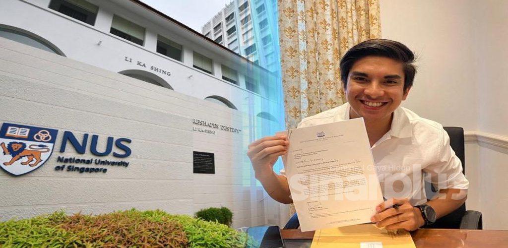 2 kali tolak peluang ke Oxford, kini Syed Saddiq terima tawaran biasiswa universiti di Singapura