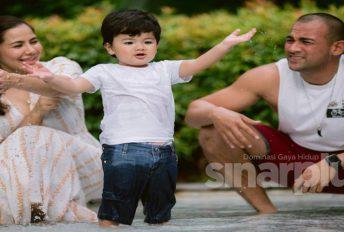 Sharnaaz setuju nafkah anak RM1,200 sebulan