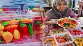 Sekali pandang macam buah tiruan, Luk Chup 'kena' selera masyarakat tempatan