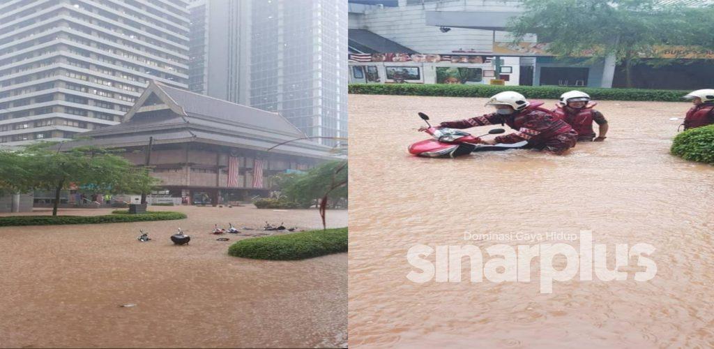 5 kawasan terjejas teruk banjir kilat, kedai mamak tenggelam tapi pelanggan tetap setia nikmati hidangan