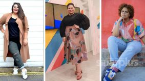 Wanita plus size pun boleh bergaya baju bercorak, tiru fesyen Sherry Alhadad