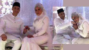 Raja Afiq kini bergelar suami