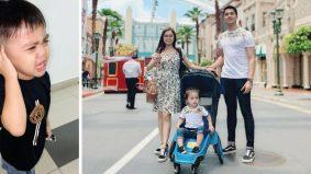 'Daddy… Daddy' – Ayden menangis rindukan ayah, peminat harap Aliff Aziz cepat masuk Malaysia