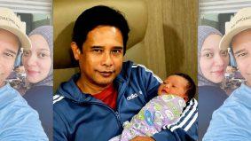 Zamarulhisham, Diana Rafar selamat timang anak ketiga