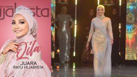 Qila juara sulung pencarian Ratu Hijabista