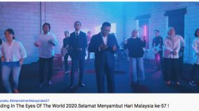 MB Selangor nyanyi rap kalah artis...satu hati nyanyi lagu legend dengan ADUN dan selebriti lain