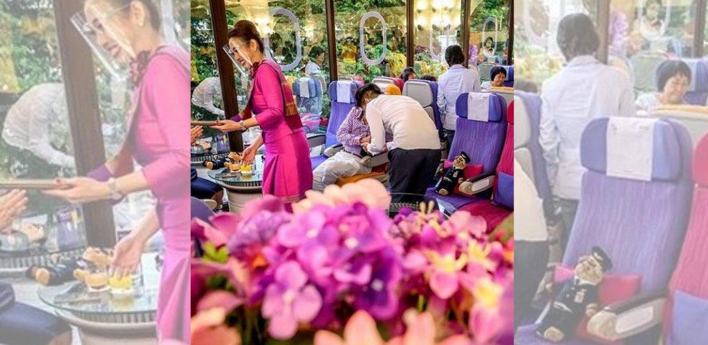 restoran pop up thai airways