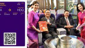 Penerbangan dihentikan kerana Covid-19, Thai Airways transform pesawat jadi restoran