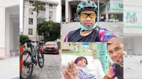 Kayuh basikal sejauh 31KM demi melawat ibu sakit
