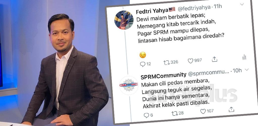 Fedtri Yahya berbalas pantun dengan SPRM, DBP turut terkait