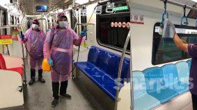 Lagi kes Covid-19, seorang staf MRT laluan Kajang disahkan positif