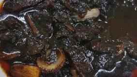 Daging masak Palembang makan sekali mesti nak tambah lagi