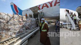 Risau keadaan di Sabah, Ustaz Ebit hantar barang medikal untuk bantu frontliner