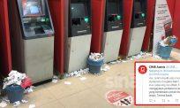 """""""Kalau nak buang kenapa print?""""- Warganet berang mesin ATM banyak sampah"""