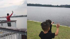 [VIDEO]Lambaian rindu bapa dari Singapura