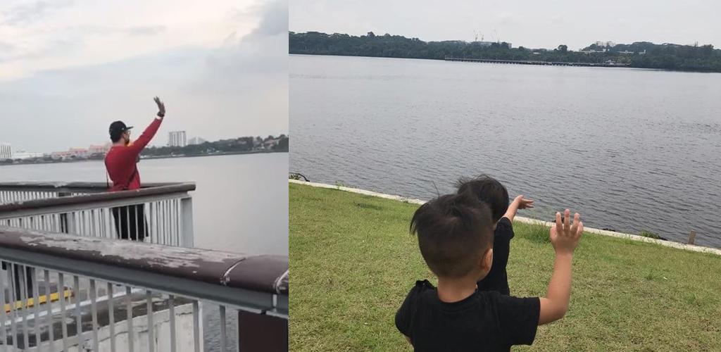 Lambaian rindu bapa dari Singapura