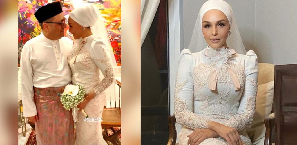 Patutlah berseri di Gegar Vaganza, Noryn Aziz sah bergelar isteri usahawan
