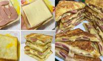 Roti sosej cheese leleh simple… alahai sedapnya!
