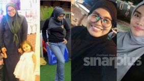 Nak kurus tak boleh stres, ibu muda ini turun 40kg dengan cara gembira