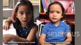[VIDEO]Pantun dua beradik kiasan isu politik tarik perhatian Permaisuri Agong