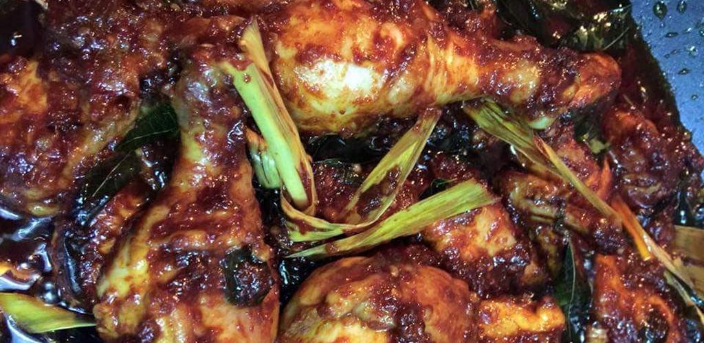 Ayam masak Bali viral dan sangat digilai