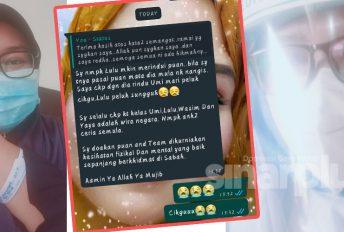 """Doakan aku sihat"" - Luahan frontliner yang positif Covid-19 di Sabah"