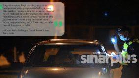 PKPB Klang: Untuk lepas sekatan jalan raya perlu surat majikan, tak perlu kebenaran polis